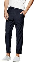 GUESS Men's Nolan Twill Cropped Trousers