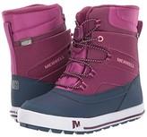 Merrell Snow Bank 2.0 Waterproof (Toddler/Little Kid) (Berry) Girls Shoes