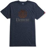 Element Men's Vertical Push Graphic-Print Logo T-Shirt