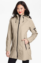 Ilse Jacobsen Women's Rain 7 Hooded Water Resistant Coat