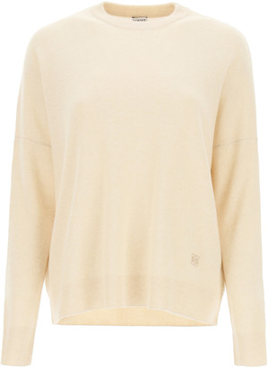 Loewe OVERSIZED CASHMERE SWEATER S Beige Cashmere