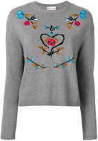 RED Valentino embroidered jumper
