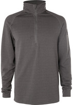 Burton Power Grid Stretch-Fleece Half-Zip Ski Base Layer