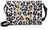 Charlotte Olympia Feline Leopard Print Crossbody