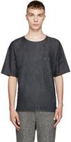 Paul Smith Navy Oversized Denim T-Shirt