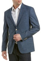 Austin Reed Classic Fit Linen, Silk, & Wool-blend Sportcoat.
