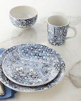 Ralph Lauren Home 4-Piece Cote D'Azur Batik Dinnerware Place Setting