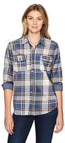 Dickies Women's Heritage Collection Long Sleeve Plaid Shirt