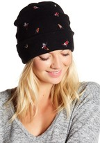 David & Young Bird Embroidered Fisherman Beanie