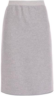 Agnona Melange Wool Pencil Skirt