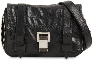 Proenza Schouler Ps1 Mini Zip Paper Leather Crossbody Bag