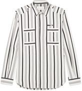 Maison Margiela - Slim-fit Striped Cotton Shirt