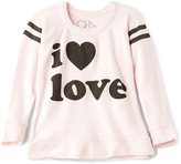 Chaser I Love Love Sweatshirt
