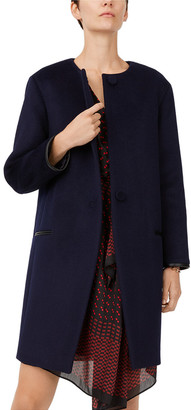 Club Monaco Gabita Wool-Blend Coat