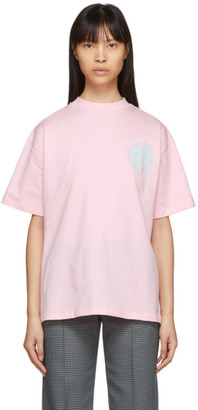 Honey Fucking Dijon Pink Small Logo T-Shirt