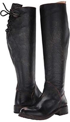 Bed Stu Manchester Wide Calf (Black Hand) Women's Boots