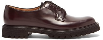 Church's Shannon Trek-sole Leather Derby Shoes - Burgundy