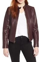 Cole Haan Signature Leather Moto Jacket