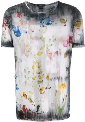 Avant Toi floral print T-shirt