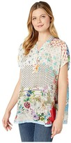 Johnny Was Abby Top (Multi A) Women's Clothing