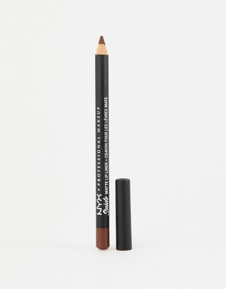 NYX Suede Matte Lip Liners - Cold Brew