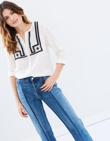 Maison Scotch Beaded Shirt