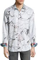 Robert Graham Canyons Woven Button-Front Shirt, Multi