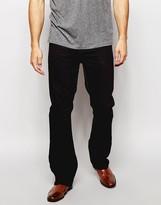 Asos Bootcut Jeans In Black