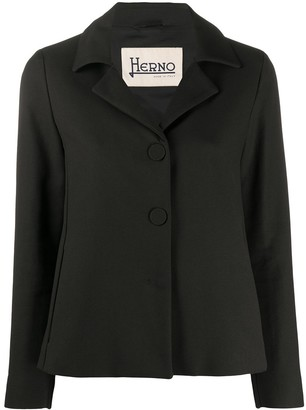 Herno Single-Breasted Regular-Fit Jacket