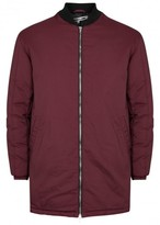 Mcq Alexander Mcqueen Ma 001 Burgundy Quilted Jacket