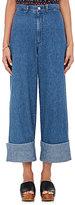 Sea Women's Cuffed Crop Wide-Leg Jeans