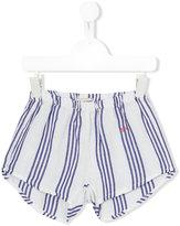 Bobo Choses striped shorts - kids - Linen/Flax/Viscose - 6 yrs