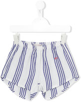 Bobo Choses striped shorts - kids - Linen/Flax/Viscose - 9 yrs