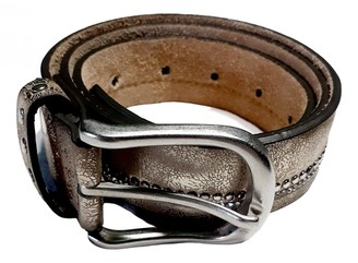 Non Signã© / Unsigned Silver Leather Belts