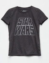 Mighty Fine STAR WARS Roll Cuff Girls Tee