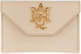 Alexander McQueen Pink Insignia Envelope Card Holder