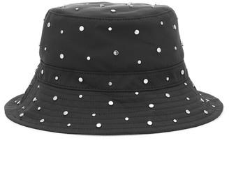 Ganni Studded bucket hat