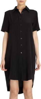 Co. High Low Hem Shirt Dress