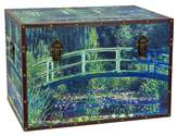 Oriental Furniture Monet's Garden Art Trunk