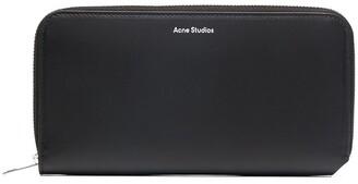 Acne Studios Fluorite S continental zip wallet