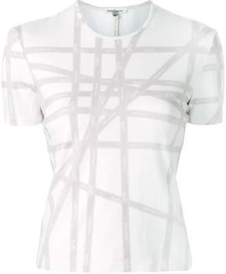 Hermes Pre-Owned ribbon print T-shirt