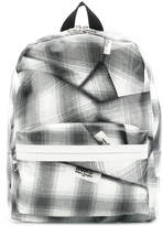 MM6 MAISON MARGIELA checked backpack