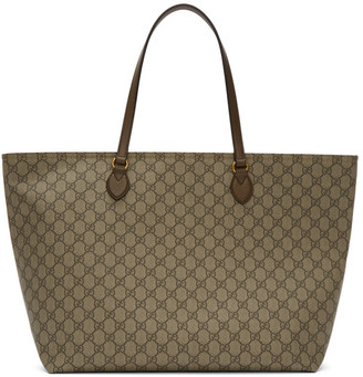 Gucci Beige GG Ophidia Tote