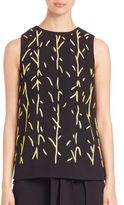 Proenza Schouler Printed Shell Top
