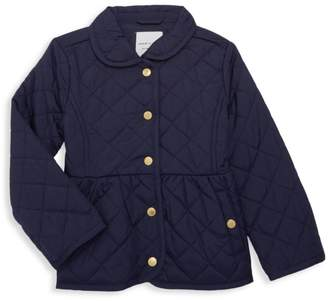 Janie and Jack Little Girl's & Girl's Quilted Jacket
