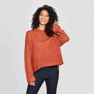 A New Day Women's Casual Fit Long Sleeve Crewneck Pullover Sweater