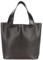 Alaia Embellished Leather Tote