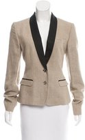 Dolce & Gabbana Shawl Lapel Button-Up Blazer