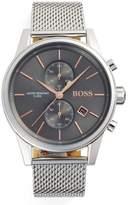 HUGO BOSS BOSS Jet Chronograph Mesh Strap Watch, 41mm