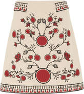 Whistles Delia Embroidery Skirt